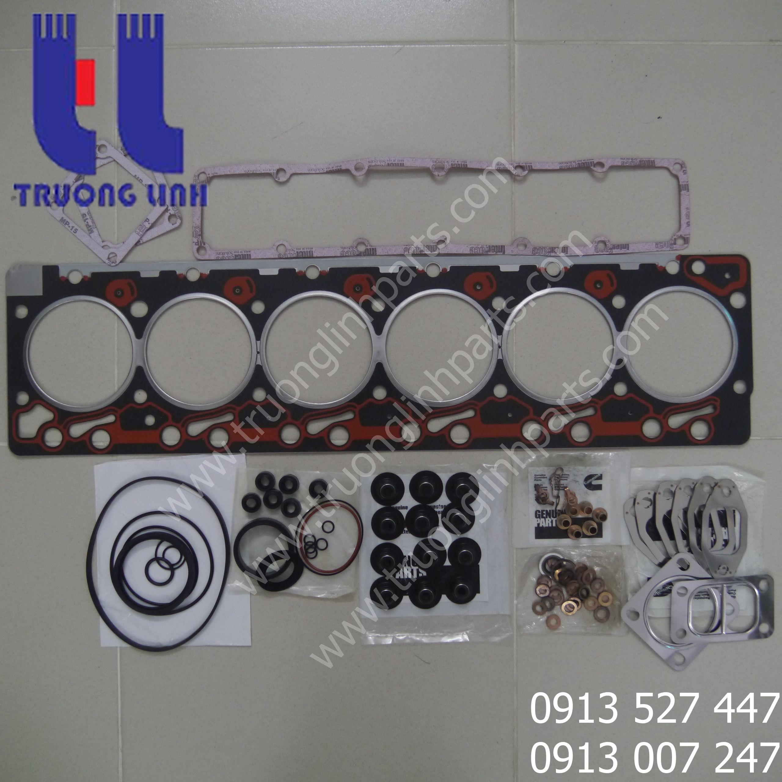 Bộ hơi máy xúc đào PC200-3 - Chuyên cung cấp phụ tùng máy xúc komatsu