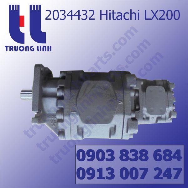 2034432 Bơm Thủy Lực Máy Xúc  Hitachi LX200
